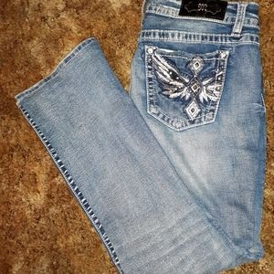 Size 32 miss me bootcut jeans 31 1/2 inseam